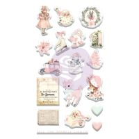 Prima Marketing Sugar Cookie Christmas Collection Puffy Stickers
