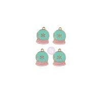 Prima Marketing Sugar Cookie Christmas Collection Enamel Charms - Snow Globe