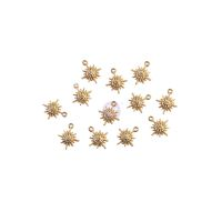 Prima Marketing Sugar Cookie Christmas Collection Metal Charms - Snowflakes