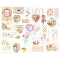 Prima Marketing Magic Love Collection Chipboard Stickers