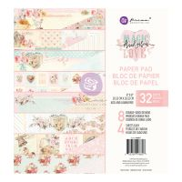 Prima Marketing Magic Love Collection 8x8 Paper Pad