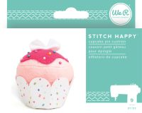 We R Memory Keepers Stitch Happy Kit - Cupcake Pin Cushion - (9 Piece)