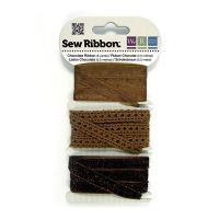 We R Memory Keepers Sew Ribbon - Chocolate