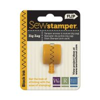 We R Memory Keepers Sew Stamper - ZigZag Stitch Head - Black
