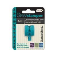 We R Memory Keepers Sew Stamper - Burst Stitch Head - Black