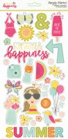 Simple Stories Sunshine and Happiness 6x12 Chipboard
