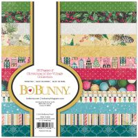 Bo Bunny Christmas in the Village - 6x6  Paper Pad- 36 Sheets