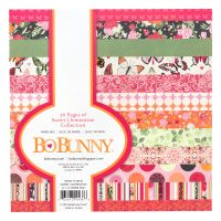Bo Bunny Sweet Clementine - 6x6  Paper Pad- 36 Sheets