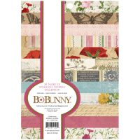 Bo Bunny Paper Pad - BB - Botanical Journal - 6 x 8 - 36 Sheets