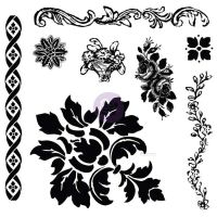 Prima Marketing Decor Clear Stamp: Fleur