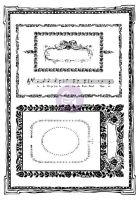 Prima Marketing 5x7 Cling Stamps-Mini frames