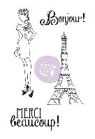 Prima Marketing Julie Nutting Doll Stamp - Merci 4