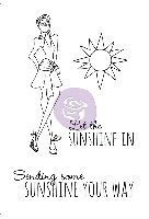 Prima Marketing Julie Nutting Doll Stamp - Sunshine 4