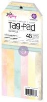 Prima Marketing Julie Nutting Tag Pad 48 Sheets - Aquarelle