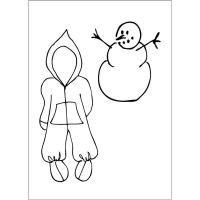 Prima Marketing Julie Nutting Doll Stamp Accessories - Baby Snow Suit (2.5 x 3.5 Cling Stamp)