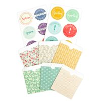 Prima Marketing Julie Nutting Planner Pocket & Labels