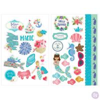 Prima Marketing Julie Nutting - Mermaid Stickers 912734