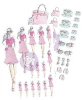 Prima Marketing Josefina Planner Stickers - Tea Time