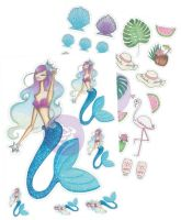 Prima Marketing Josefina Planner Stickers - Beach Day