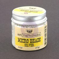 Prima Marketing Art Ingredients: Micro Beads - Silver