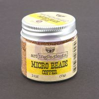 Prima Marketing Art Ingredients: Micro Beads - Copper