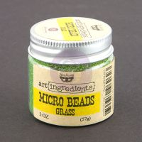 Prima Marketing Art Ingredients: Micro Beads - Grass