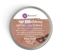 Prima Marketing Art Alchemy-Metallique Wax-Rose Gold