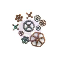 Prima Marketing Finnabair Mechanicals Set Rusty Knobs