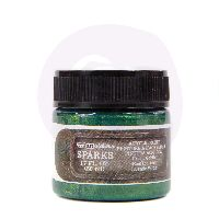 Prima Marketing Finnabair Sparks Acrylic Paint - Green Goblin