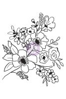 Prima Marketing Christine Adolf Cling Stamp: 4