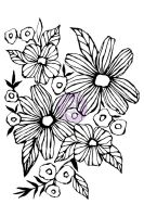 Prima Marketing Christine Adolf Cling Stamp: 7