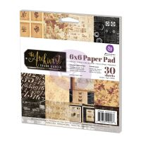 Prima Marketing 6x6 Paper Pad-The Archivist