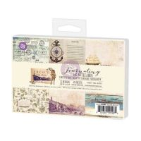 Prima Marketing 4x6 Journaling Cards-French Riviera