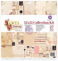 Prima Marketing 12x12 Collection Kit - Love Clippings