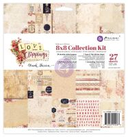 Prima Marketing 8x8 Collection Kit - Love Clippings