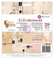 Prima Marketing 6x6 Collection Kit - Love Clippings