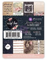 Prima Marketing 3x4 journaling cards - Wild & Free