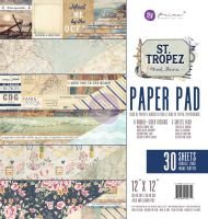 Prima Marketing St. Tropez 12X12 Paper Pad