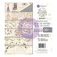 Prima Marketing Spring Farmhouse 6x6 Paper Pad