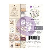 Prima Marketing Spring Farmhouse 3x4 Paper Pad