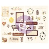 Prima Marketing Spring Farmhouse Chipboard