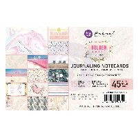 Prima Marketing Golden Coast 4X6 Journaling Cards