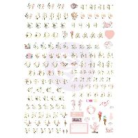 Prima Marketing Golden Coast Alphabet stickers
