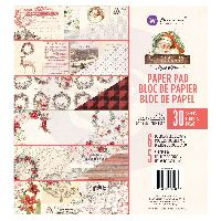 Prima Marketing Christmas in the Country - 8x8 Paper Pad