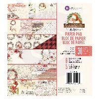 Prima Marketing Christmas in the Country - 6x6 Paper Pad