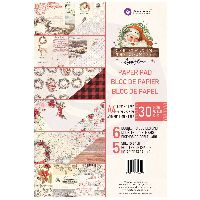 Prima Marketing Christmas in the Country - A4 Paper Pad