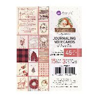 Prima Marketing Christmas in the Country - 3X4 Journaling Cards
