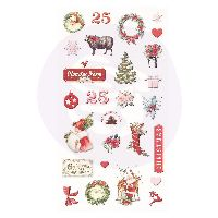 Prima Marketing Christmas in the Country - Puffy Stickers