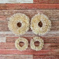 Prima Marketing Christmas in the Country - Sisal Wreaths