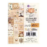 Prima Marketing Autumn Sunset - 3X4 Journaling Cards